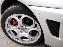 колесо romeo gtv альфаы Стоковое фото RF