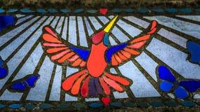 Колибри мозаики стоковые фотографии rf