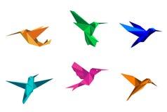 Колибри Origami бесплатная иллюстрация