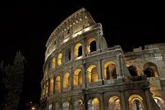 Колизей осветил ночу Стоковые Изображения RF