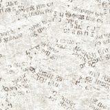 Коллажа grunge газеты текстура винтажного безшовная стоковое фото