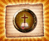 коллаж библии Стоковое Изображение