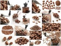 Коллаж кофе Стоковые Фото