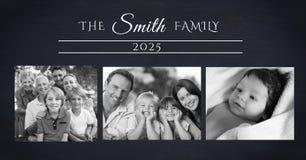 коллаж семейного фото стоковая фотография