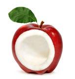 коллаж яблока Стоковое фото RF