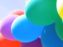 коллаж i воздушного шара Стоковое Изображение