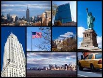 коллаж New York Стоковая Фотография RF