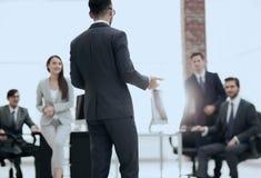 Коллеги на встрече офиса Стоковая Фотография