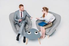 Коллеги на деловой встрече Стоковая Фотография RF