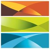 коллекторы знамен цветастые Стоковая Фотография RF
