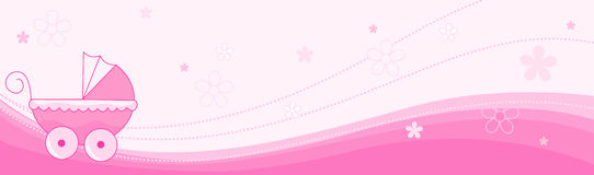 коллектор девушки знамени младенца Стоковые Фотографии RF
