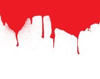коллектор капли крови иллюстрация штока