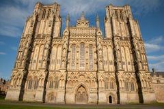 Колодцы собор, Англия, Великобритания Стоковые Фотографии RF