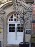 КОЛОДЦЫ TUNBRIDGE, KENT/UK - 5-ОЕ ЯНВАРЯ: Вход до одно Warwick p Стоковые Фотографии RF