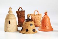 колоколы керамические стоковые фотографии rf