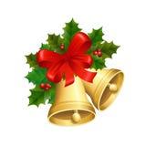 Колоколы рождества Стоковое Изображение