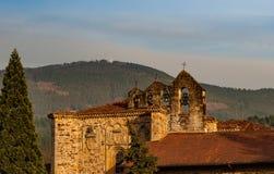 Колоколы старого монастыря в Oñati, Испании стоковые фото
