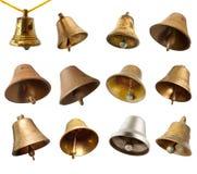 колоколы установили Стоковые Фото