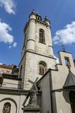 Колокольня армянского собора Львова, Украины стоковые изображения rf
