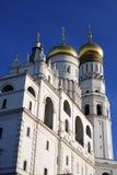 Колокольня Ивана большая Москвы Кремля Место всемирного наследия Unesco Стоковые Изображения RF
