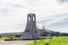 Колокольня и красивый взгляд ландшафта Utsukushigahara Стоковые Фотографии RF