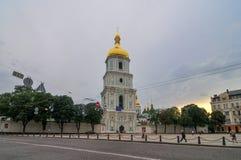 Колокольня собора Sophia Святого - Киев, Украина Стоковое Изображение RF
