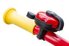 Колокол велосипеда на handlebars Стоковые Изображения RF