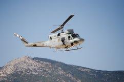 Колокол вертолета uh 1 пулемет Стоковые Фотографии RF
