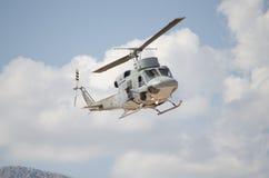 Колокол вертолета uh 1 пулемет Стоковые Фото