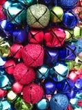 колокол красит вал jingle стоковое изображение