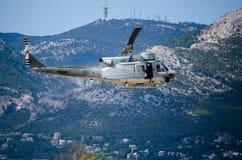 Колокол uh 1 вертолета Стоковая Фотография