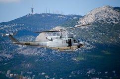 Колокол uh 1 вертолета Стоковые Изображения