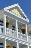 колониальная дом детали Стоковое Фото