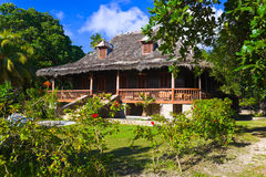 колониальная дом ретро Стоковое Фото