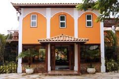 колониальная дом роскошная Стоковое Фото