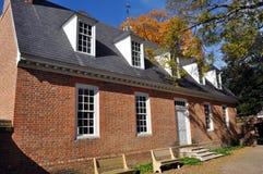 колониальная дом эры Стоковая Фотография RF