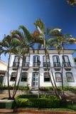 колониальная дом Стоковые Изображения