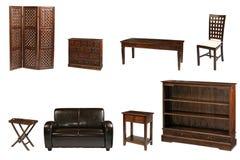 колониальная мебель Стоковая Фотография RF