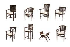 колониальная мебель Стоковые Фото