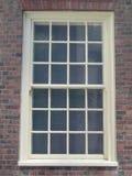 колониальное окно Стоковая Фотография RF