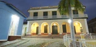 колониальные дома Стоковое Изображение RF