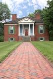 колониальный дом farmington Стоковое Изображение