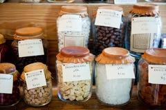 Колониальный магазин конфеты Williamsburg Стоковые Фото