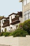 колониальный тип дома Стоковое Фото