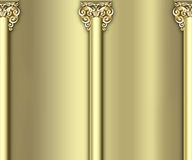 колонка предпосылки богато украшенный Стоковые Изображения RF