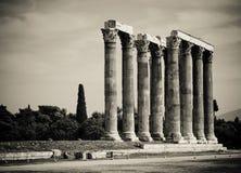 колонки греческие Стоковое Изображение RF