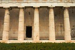 колонки греческие Стоковое Фото