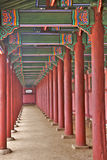 колонки деревянные Стоковые Изображения