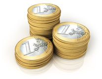 Колонки монеток Стоковая Фотография RF