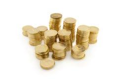 Колонки монеток Стоковые Изображения RF